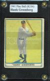81 Hank Greenberg